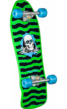 Powell Peralta Gee Gah Ripper Complete Assembly Green - 9.75 x 30