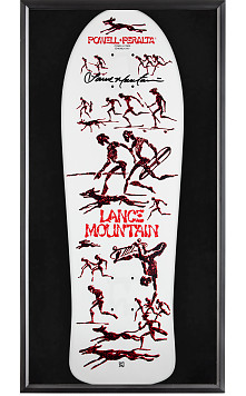 Bones Brigade® Shadowbox Mountain Blem Skateboard Deck Signed by Lance