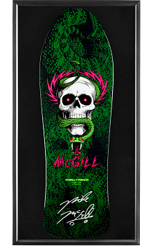 Bones Brigade® Shadowbox McGill Blem Skateboard Deck Signed by Mike