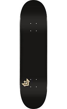 "MINI LOGO CHEVRON ""11"" SKATEBOARD DECK 250 BLACK - 8.75 X 33"