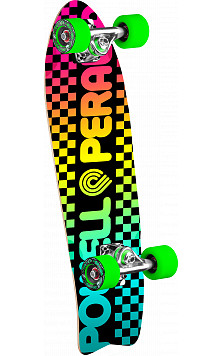 Powell Peralta Checker Cruiser 276 Skateboard Assembly - 8.6 x 27.74