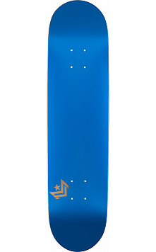 Mini Logo Chevron Skateboard Deck 170 Metallic Blue - 8.25 x 32.5