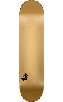 Mini Logo Chevron Skateboard Deck 191 Gold - 7.5 x 28.65