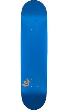 Mini Logo Chevron Skateboard Deck 124 Metallic Blue - 7.5 x 31.375
