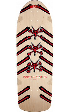 Powell Peralta Rat Bones Skateboard Deck Natural - 10 x 30