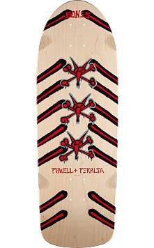 Powell Peralta Rat Bones Skateboard Deck Natural - 10 x 30