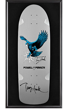 Bones Brigade® Shadowbox Hawk Blem Skateboard Deck Signed by Hawk
