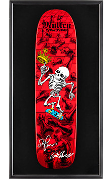 Bones Brigade® Shadowbox Mullen Blem Skateboard Deck Signed by GAP/Stacy