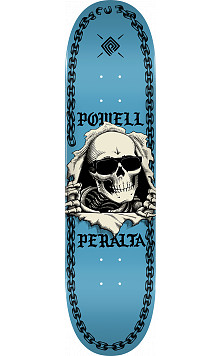 Powell Peralta Ripper Chainz Skateboard Deck Navy - 8.5 x 32.08