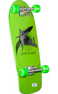 Bones Brigade Mike McGill Green Jet Fighter Complete - 10.28 x 30.25