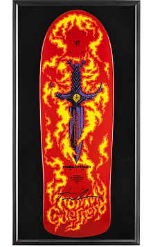 Bones Brigade® Shadowbox Guerrero Blem Skateboard Deck Signed by Tommy