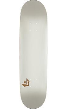 Mini Logo Chevron Skateboard Deck 170 Pearl White - 8.25 x 32.5