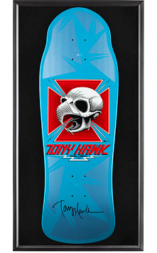 Bones Brigade® Shadowbox Hawk Blem Skateboard Deck Signed by Tony