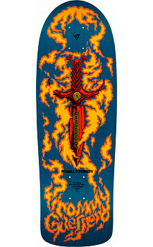 Bones Brigade® Tommy Guerrero 10th Series Reissue Skateboard Deck Blue - 9.6 x 29.18