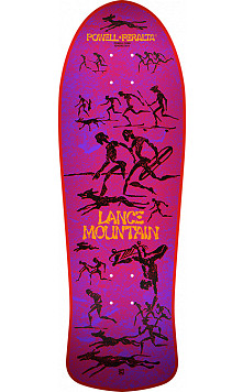 Bones Brigade® Lance Mountain 10th Series Reissue Skateboard Deck Red - 10 X 30.75