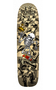 Bones Brigade® Rodney Mullen 10th Series Reissue Skateboard Deck Natural - 7.4 X 27.625