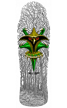 Bones Brigade® Tony Hawk 10th Series Reissue Skateboard Deck White - 10.45 x 31.25