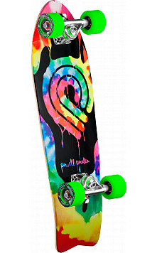 Powell Peralta PPP Tie Dye Cruiser 276 Skateboard Assembly - 8.6 x 27.74