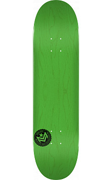 "MINI LOGO CHEVRON STAMP ""12"" SKATEBOARD DECK 170 GREEN - 8.25 X 32.5"
