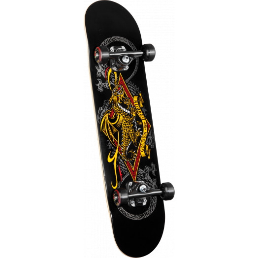 Powell Golden Dragon Diamond Dragon 3 Complete Skateboard - 7.5 x 31.375
