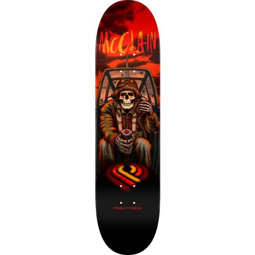 Powell Peralta Pro Brad McClain Pilot Skateboard Deck - 8 x 31.45
