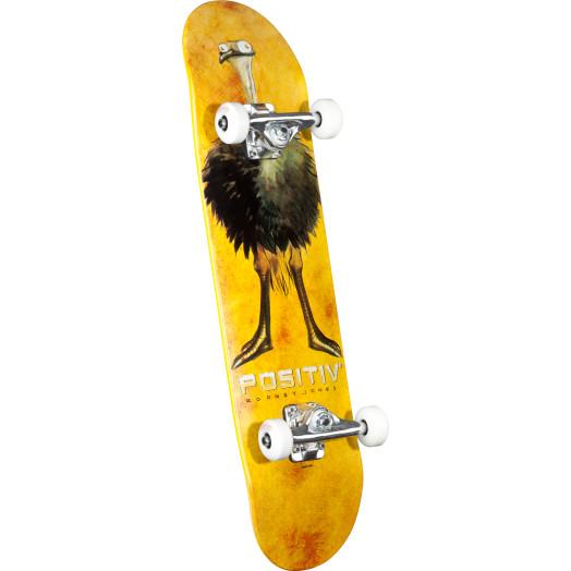 Positiv Rodney Jones Ostrich Neck Complete Skateboard - 7.625 x 31.625