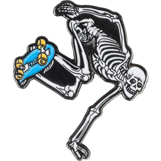 Powell Peralta Skateboarding Skeleton Lapel Pin