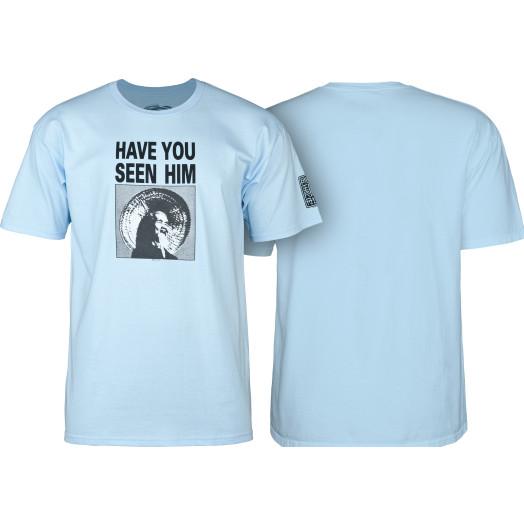Powell Peralta Animal Chin T-shirt Powder Blue