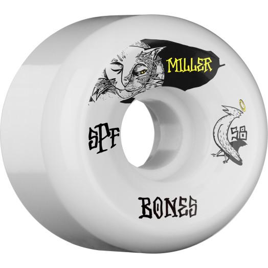 BONES SPF Pro Miller Guilty Cat 58x33 P5 Skateboard Wheel 84B 4pk