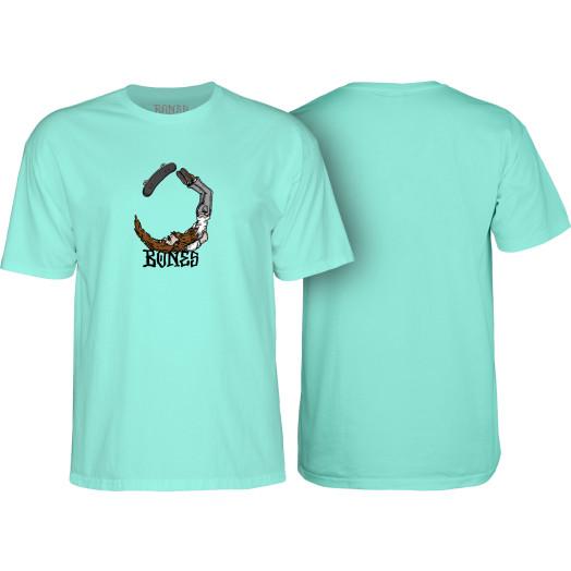 BONES WHEELS T-shirt Scorpion Mint