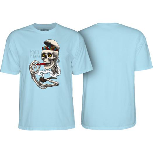 Powell Peralta Curb Skelly T-shirt Powder Blue