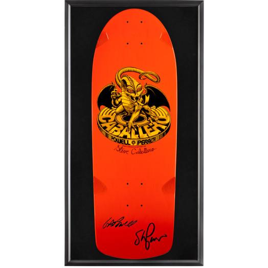 Bones Brigade® Shadowbox Caballero Blem Skateboard Deck Signed by GAP/Stacy