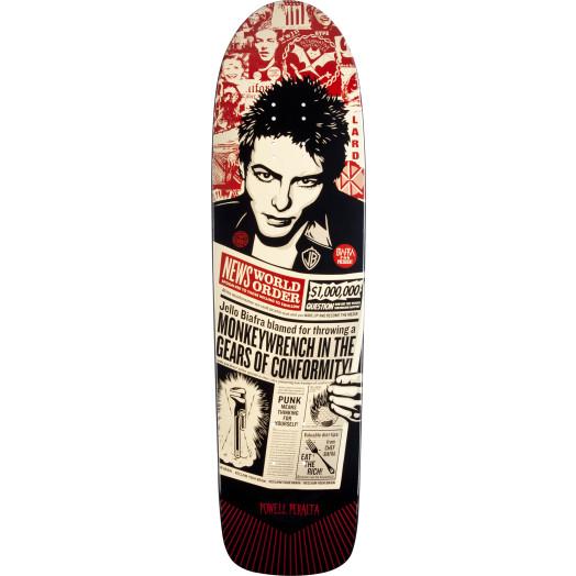 Powell Peralta Guest Artist deck Shepard Fairey Skateboard Deck - 8.4 x 31.5