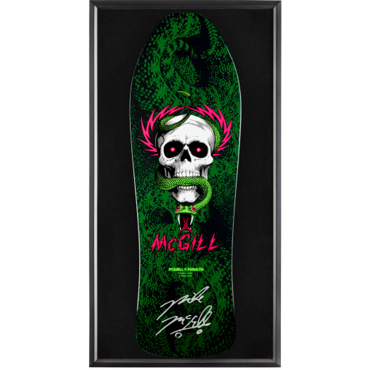 Bones Brigade® Shadowbox McGill Blem Skateboard Deck Signed by Mike