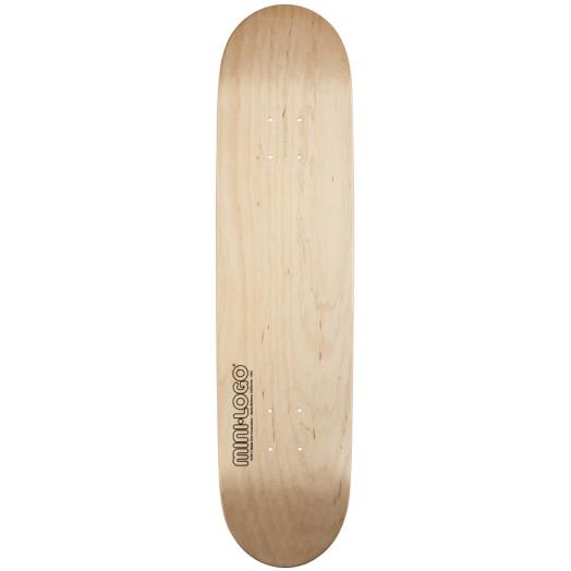 Mini Logo 127 K12 Skateboard Deck Natural - 8 x 32.125