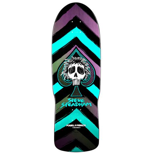 Powell Peralta Steve Steadham Spade Skateboard Deck - 10 x 30.125
