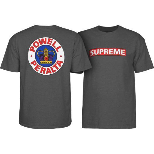 Powell Peralta Supreme Shirt Charcoal