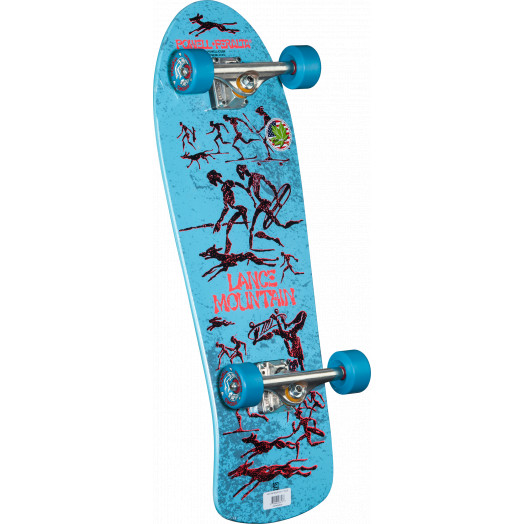 Bones Brigade® Lance Mountain Complete Skateboard Blue - 10 x 30.75
