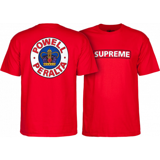Powell Peralta Supreme T-Shirt Red