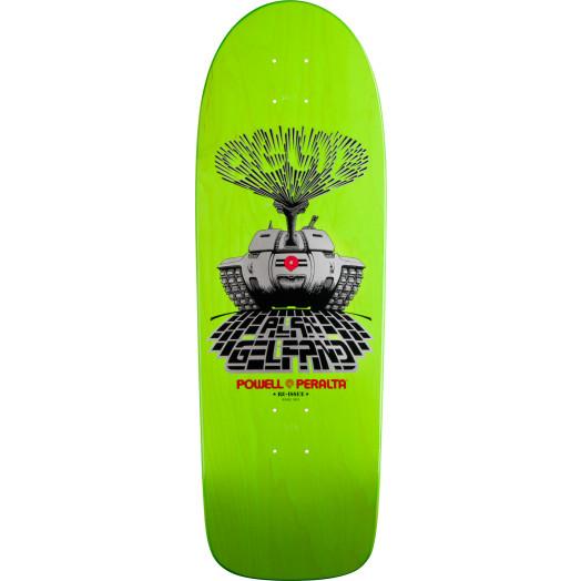 Powell Peralta Alan Gelfand Ollie Tank Skateboard Deck (Blem) - 10 x 30
