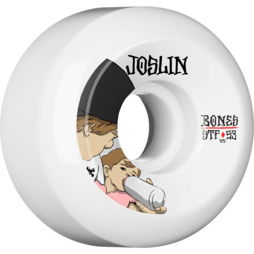 BONES WHEELS STF Pro Joslin London Skateboard Wheel V5 53mm 103A 4pk