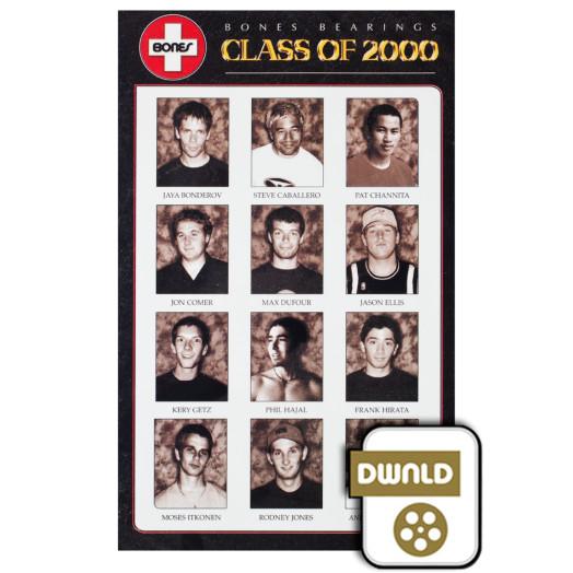 Bones® Bearings Class of 2000  SD Download