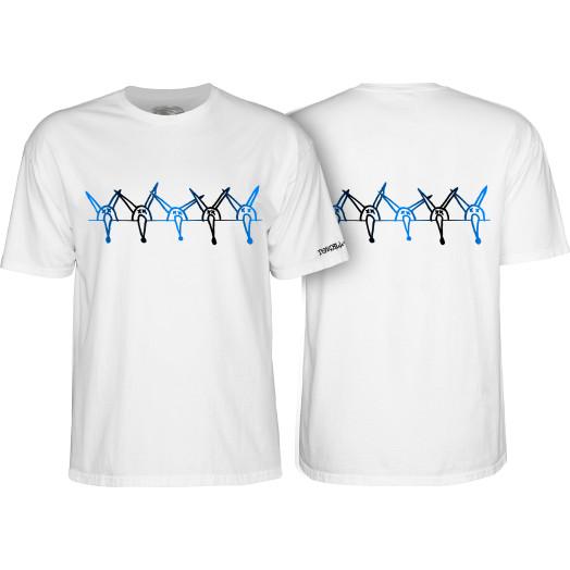 Powell Peralta Vato Rat Band White T-shirt