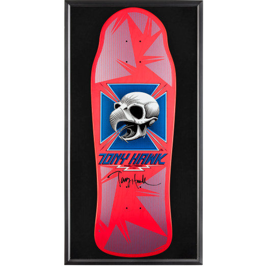 Bones Brigade® Shadowbox Hawk Blem Skateboard Deck Signed by Tony