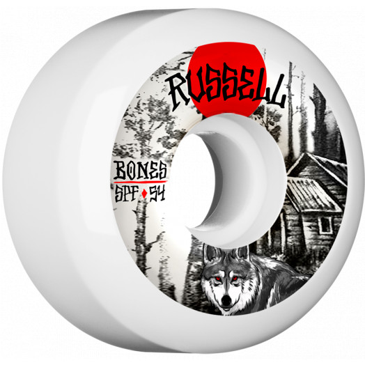 BOBES WHEELS SPF Pro Russell Cabin Skateboard Wheel P5 54mm 104A 4pk