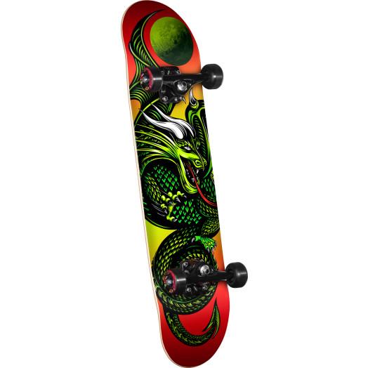 Powell Golden Dragon Knight Dragon II Complete Skateboard - 7 x 28