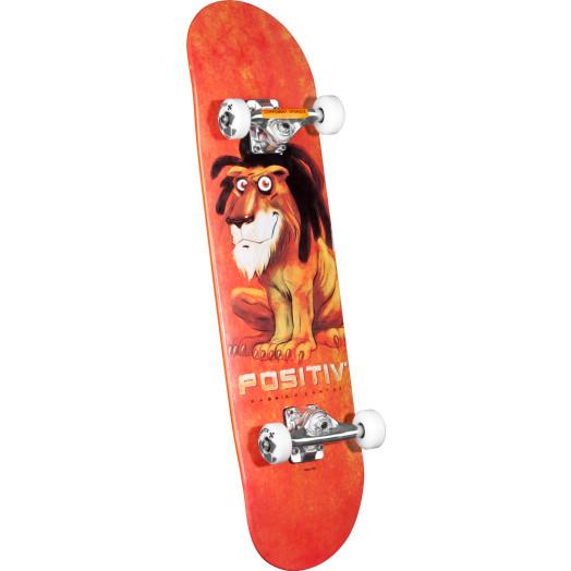 Positiv Fabrizio Santos Lion Complete Skateboard - 8 x 32.125