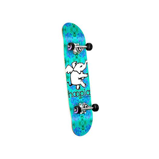 hoopla Trippy Complete Skateboard - 7.5 x 28.65