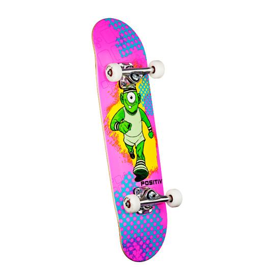 Positiv Team Monster Series Complete Skateboard - 7.5 x 28.65