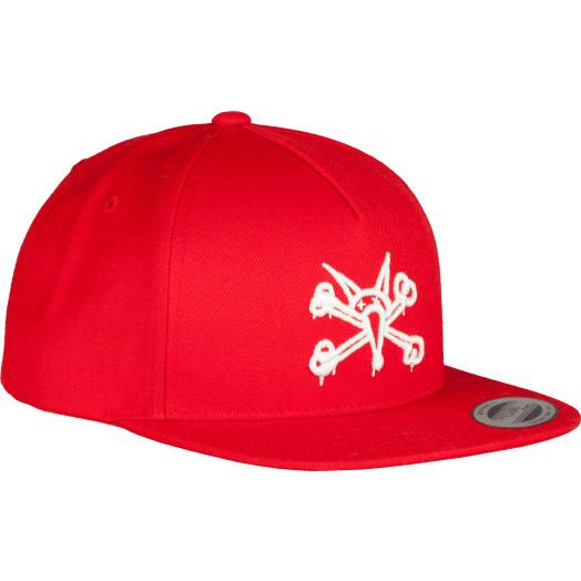 Powell Peralta Vato Rat Snap Back Cap Red